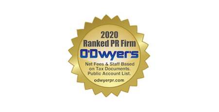 2020 Ranked PR Firm O'Dwyer's